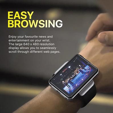 DM101 Big Screen Smartwatch