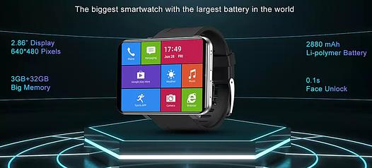 DM100 big Smartwatch