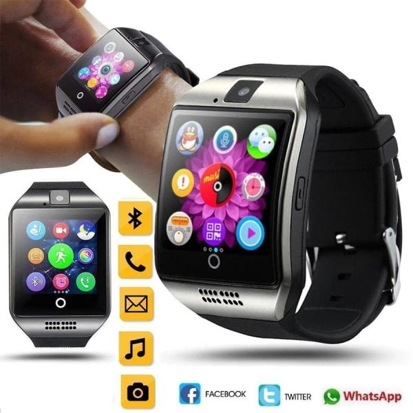 Q18 Bluetooth Smartwatch